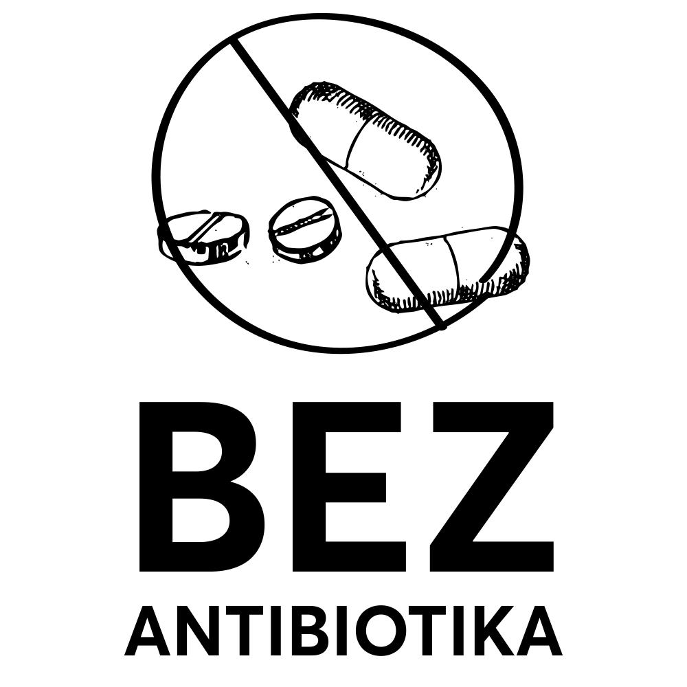 Purex piktogrami - bez antibiotika