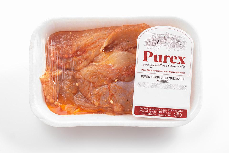 Purex - pureća prsa u dalmatinskoj marinadi