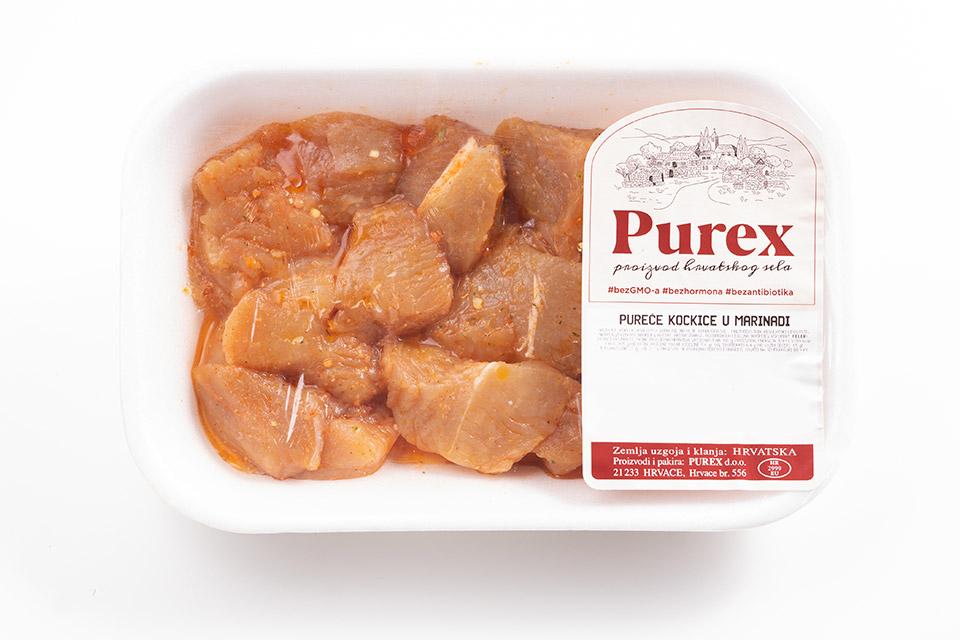 Purex - pureće kockice u dalmatinskoj marinadi